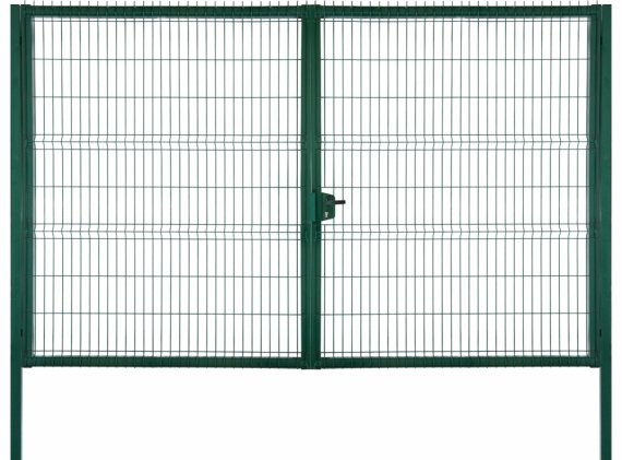 Ворота Medium Lock 2,03x3,5 RAL 6005